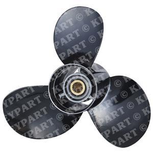 018613 - 18-3/4x17 LH Aluminium Bravo 2 Prop - 3-Blade
