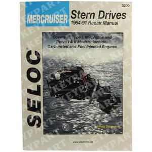 18-03200 - Engine & Sterndrive Workshop Manual 1964-1992