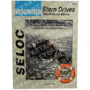 18-03206 - Engine & Sterndrive Workshop Manual 1992-2001