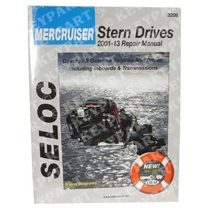18-03208 - Engine & Sterndrive Workshop Manual 2001-2013