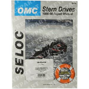 18-03404 - Engine & Sterndrive Workshop Manual 1985-1998
