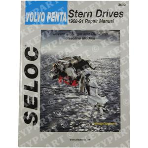18-03600 - Engine & Sterndrive Workshop Manual 1968-1991