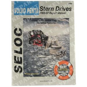 18-03608 - Engine & Sterndrive Workshop Manual 2003-2012 - VP