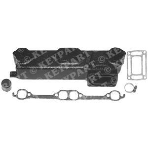 18-1903 - Exhaust Manifold - Port - End Riser Type