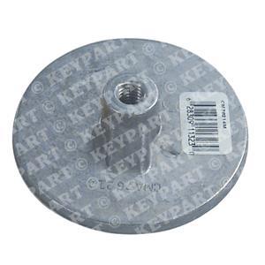 18-6244 - Magnesium Anode - Above Prop - Circular Flat Type - Replacement