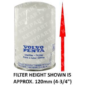 21549544 - Oil Filter - Genuine