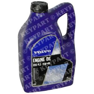 23068343 - VDS-4.5 15W/40 Volvo Engine Oil 5-Litre - Genuine