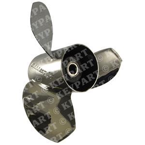 "345034 - 14 3/8""x21"" RH Stainless Steel 3-Blade Propeller"