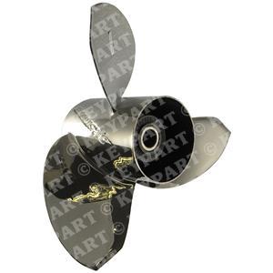 "346031 - 14 7/8""x15"" RH Stainless Steel 3-Blade Propeller"