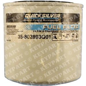 35-802893Q01 - Fuel Filter (25-micron) - Genuine