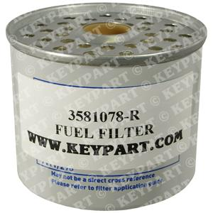 3581078-R - Fuel Filter for CAV/Delphi 296 Pre-filter - Replacement