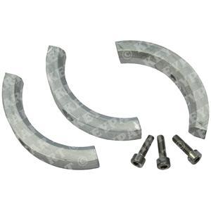 3858399 - Zinc Anode Kit - Folding Prop - 3-Segment - Genuine