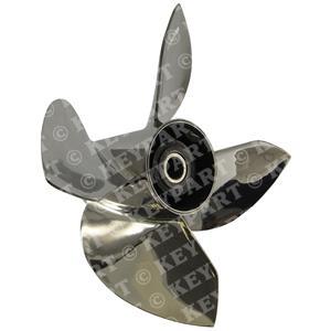 "435035 - 13 3/4""x23"" RH Stainless Steel 4-Blade"