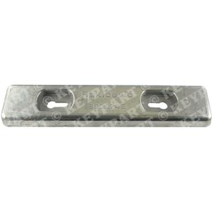 800274E - Zinc Hull Anode 7Kg - Low Profile - 230mm Hole Centres