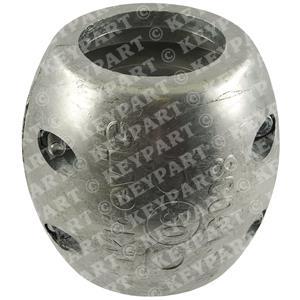 800513ZN - 50mm Zinc Shaft Anode