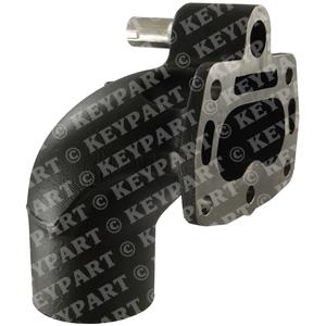 831834 - Exhaust Bend with Valve - Genuine