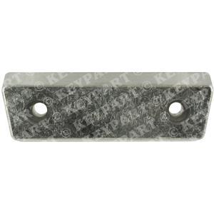 852835-R - Zinc Bar - Transom Shield - Replacement