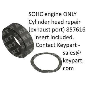 857616 - SOHC Exh Manifold Insert inc Repair