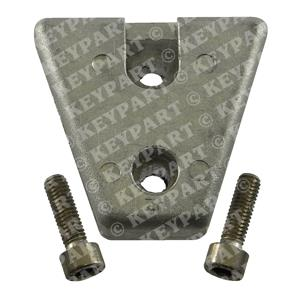 876638-R - Zinc Anode for front of Cavitation Plate - DPX