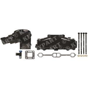 KP-Manifold-Set-5 - V8 Dry Joint Alternative Manifold & Riser set