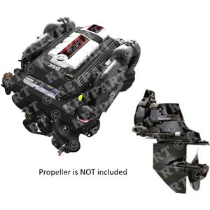MC6.2-MPI-B2-350HP - Mercruiser 6.2L Package with Bravo 2 Sterndrive