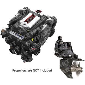MC6.2-MPI-B3-350HP - Mercruiser 6.2L Package with Bravo 3 Sterndrive