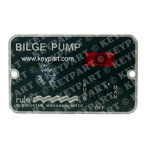 RULE-41 - 12/24v 3-Way Control Panel for Automatically Controlled Bilge Pumps -
