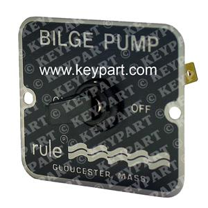 RULE-49 - 12/24V 2-Way Control Panel for Non-Automatically Controlled Bilge Pump