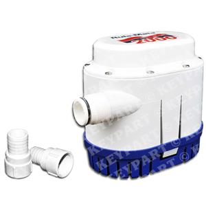 RULE-RM2000A-24 - Automated 24V Submersible Bilge Pump with integral Float Switch - Fuse